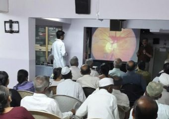 DIABETIC RETINOPTHY CAMP BY NIOEYES PUNE